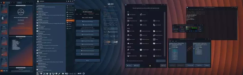 Distribuição AV Linux tem um novo lançamento da versão multimídia