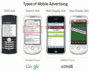 Google Mobile reklamlar