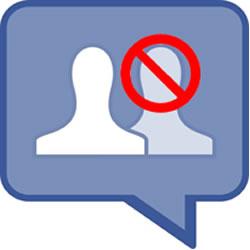 facebook kişi engelleme