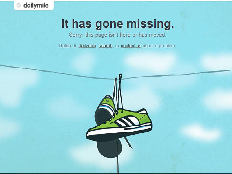 dailymile 404 sayfası