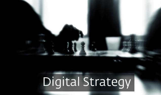 dijital strateji sunumu