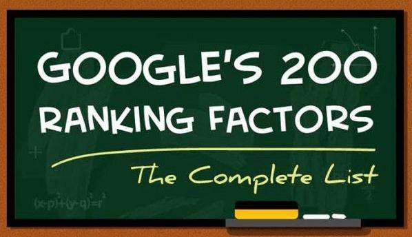 Google Sıralama Faktörleri