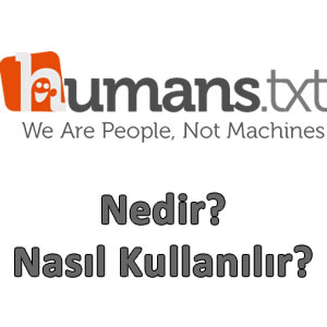 humanstxt nedir