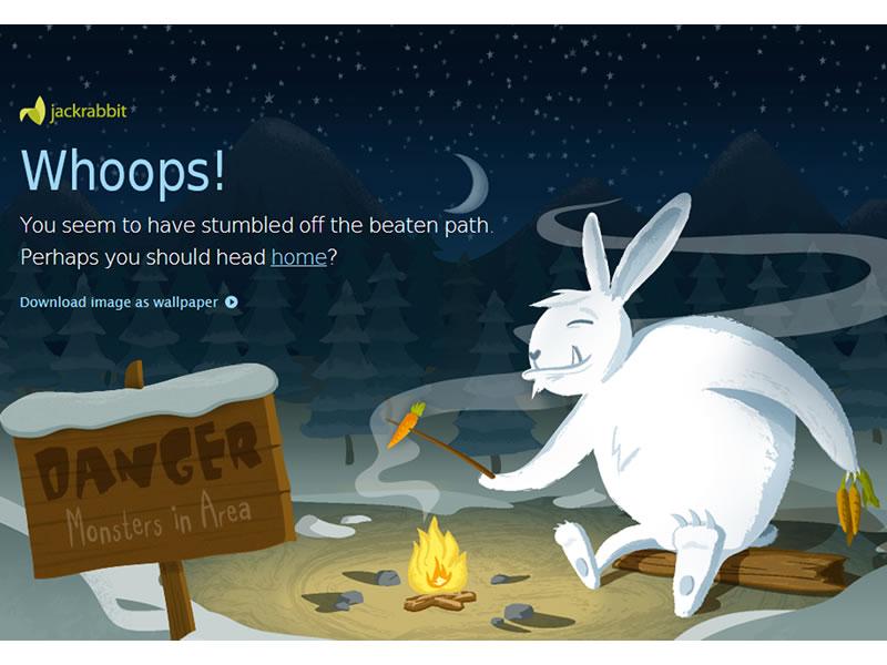 jumpingjackrabbit 404 sayfası