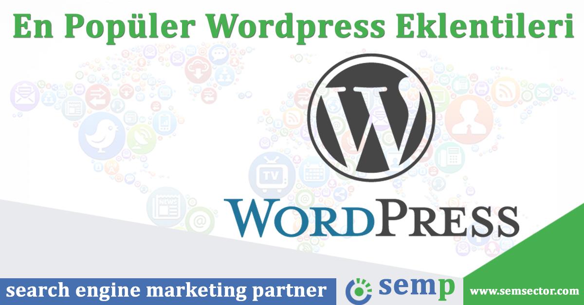 En Çok Kullanılan Wordpress Eklentileri