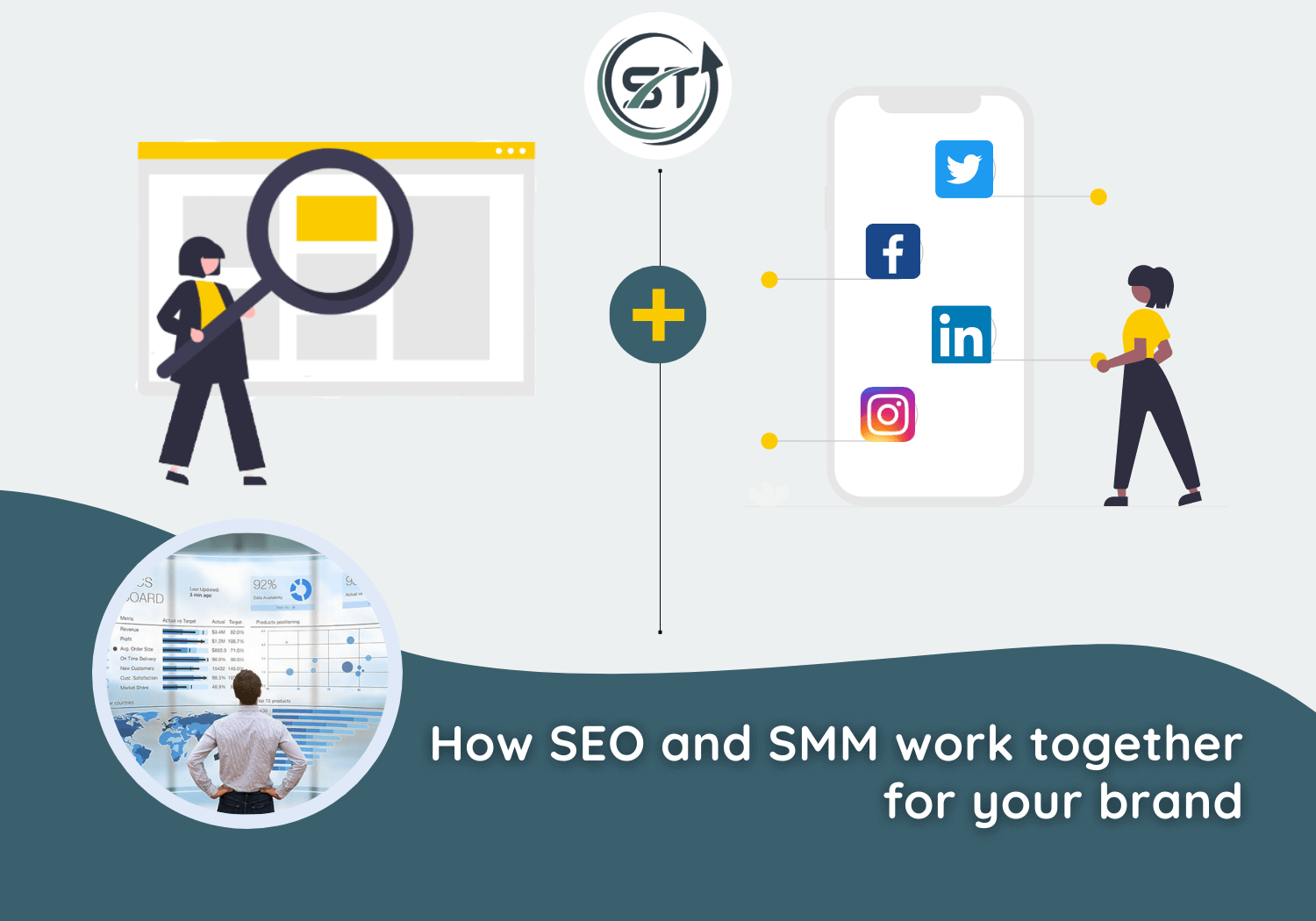 Read more about the article How SEO and SMM Work Together for Your Brand