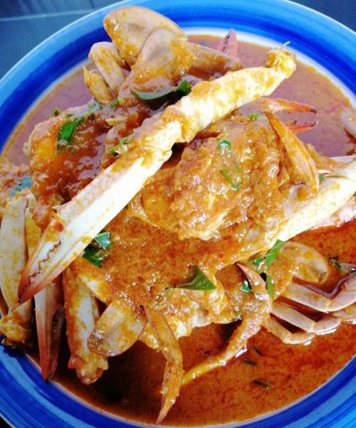 Resepi Ketam Masak Pedas Ala Thai