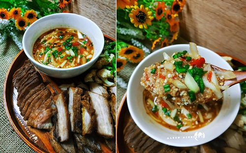 Resepi Daging Bakar Sambal Pencicah ala Dannok Thai