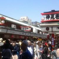 Menyibukkan Diri di Sibuknya Nakamise Dori, Tokyo