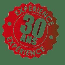 30 ans d'expérience