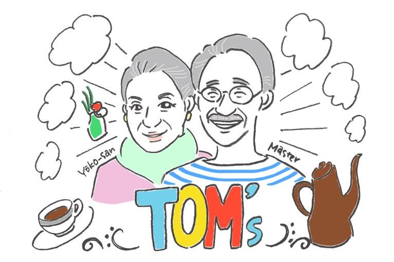 TOMs似顔絵