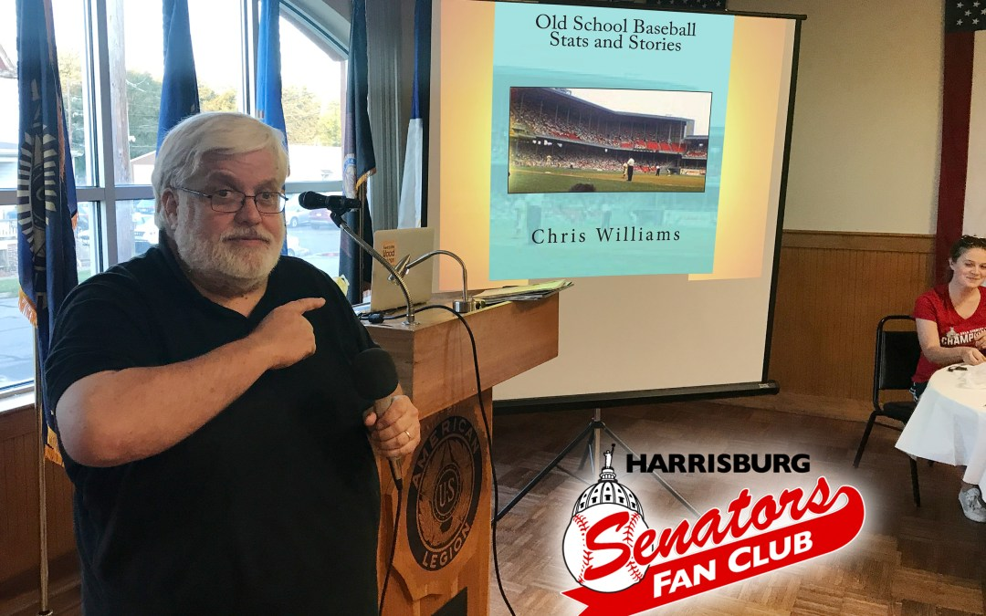 Chris Williams – Old School Baseball Stats and Stories (Sept 2018)