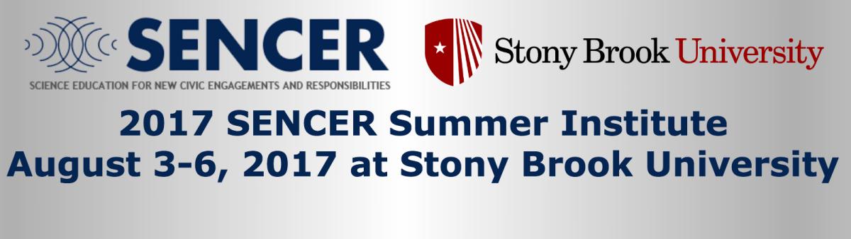 Register for the 2017 SENCER Summer Institute!