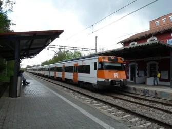 Ruta ST117 Estació de Parets del Vallès