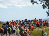 Marcha Solidaria de Fortuna - En ruta