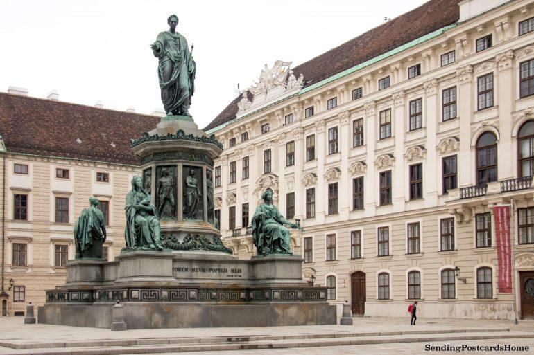 Vienna winter palace 1 Hofburg