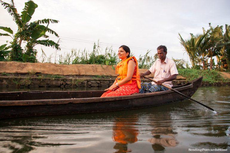 Kerala houseboat Alleppey, Kerala, India - Sending Postcards Home 13