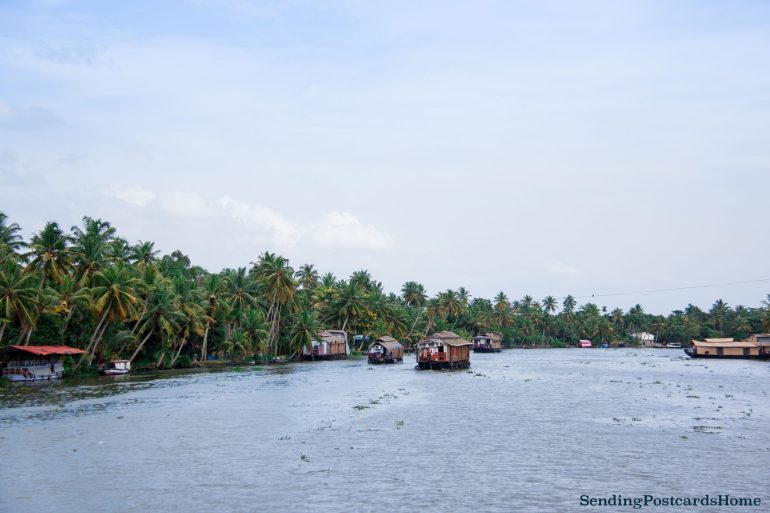Kerala houseboat Alleppey, Kerala, India - Sending Postcards Home 5