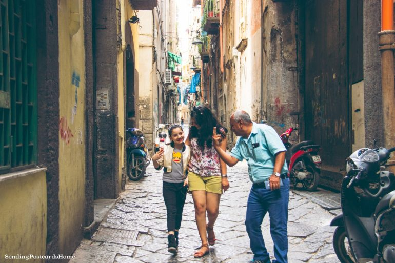 Postcard from Naples & the best pizza places - Streets of Napoli, Italy 1