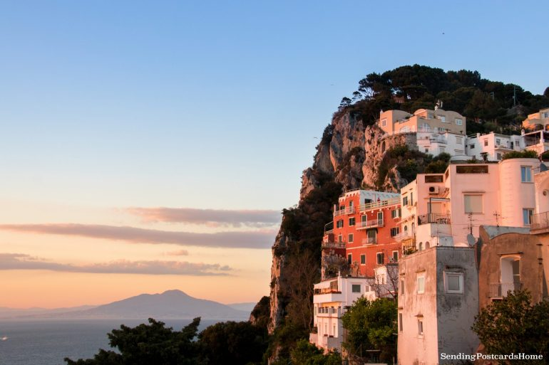 Sunset in Capri Island, Italy 1