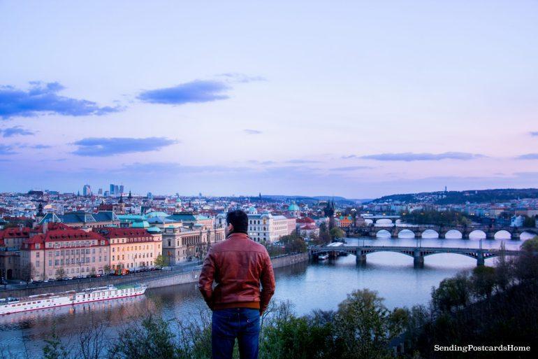 Top View Prague