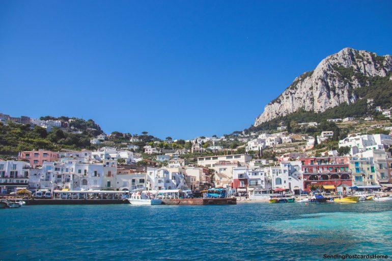 Capri, Italy - Island View 1