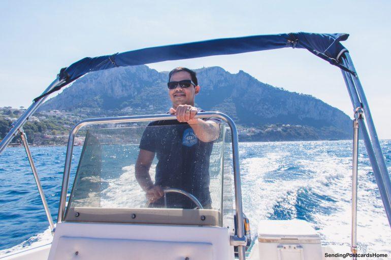 Capri, Italy - Rent a boat 1