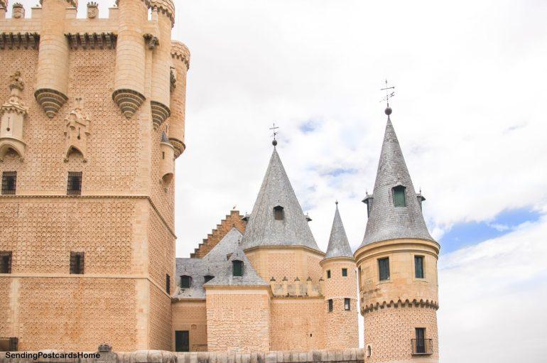 Day trip from Madrid to Segovia, a medieval city, Madrid, Spain - Alcázar of Segovia - Castle 12