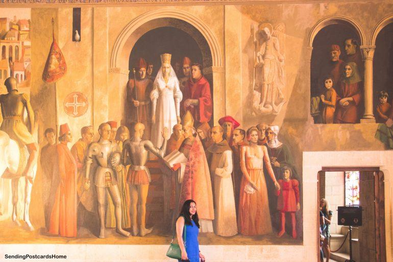 Day trip from Madrid to Segovia, a medieval city, Madrid, Spain - Alcázar of Segovia - Castle 3