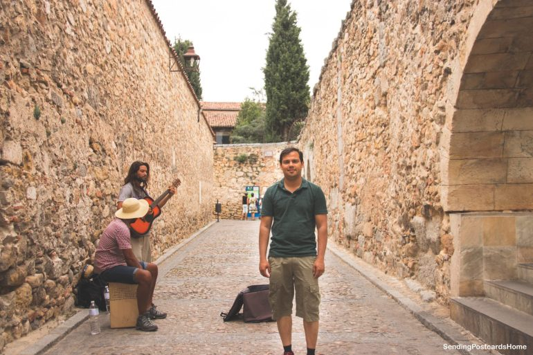 Day trip from Madrid to Segovia, a medieval city, Madrid, Spain - Aqueduct