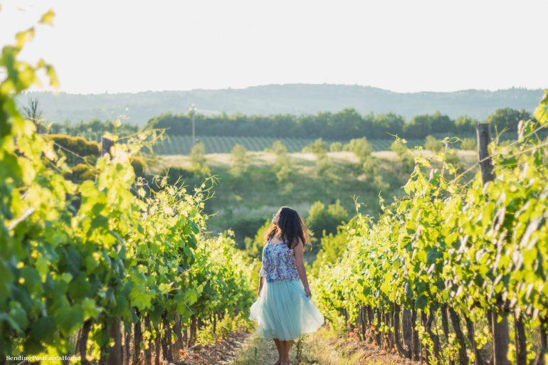 Road trip in Tuscany, Chianti, Italy - Tuscan Villa, Sunset View, Vineyards- Travel Blog 8