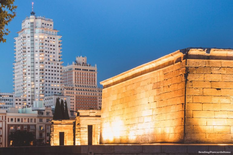 Things to do in Madrid - Debod Egyptian temple, Spain, Madrid - Travel Blog 4