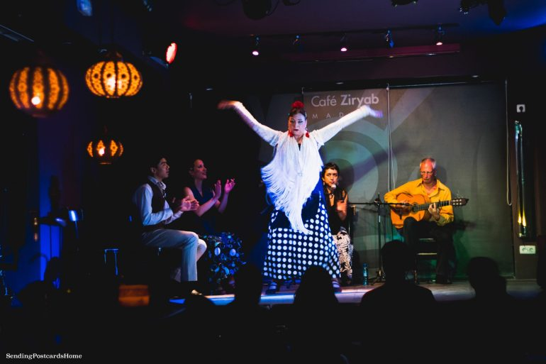 Things to do in Madrid - Flamenco Dance, Cafe Ziryab, Madrid, Spain - Travel Blog 2