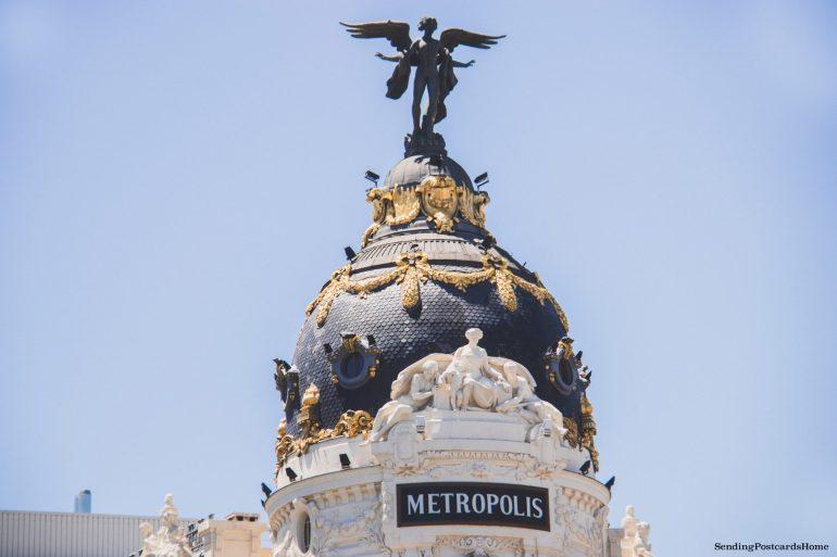 Things to do in Madrid - Metropolis Building, Madrid, Spain - Travel Blog 1