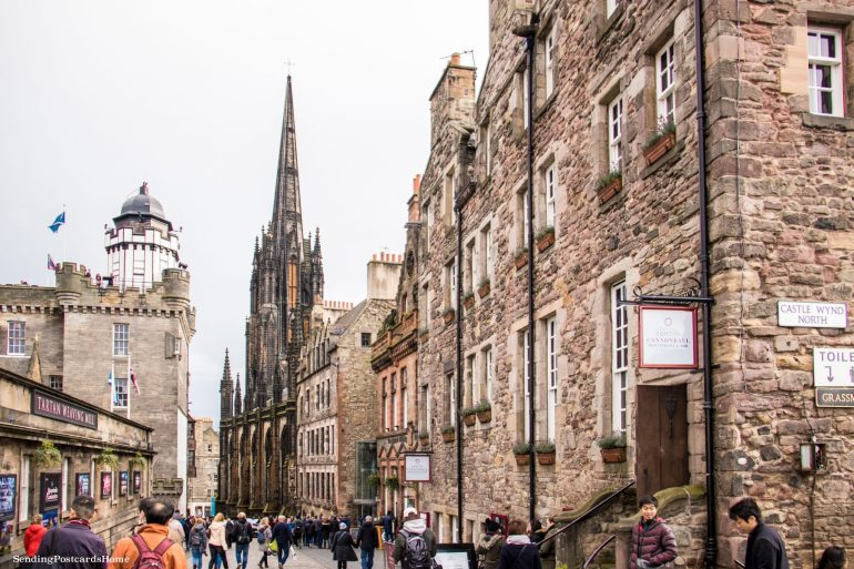 5 amazing things to do in Edinburgh, The Royal Mile, Scotland, UK - Travel Blog 3