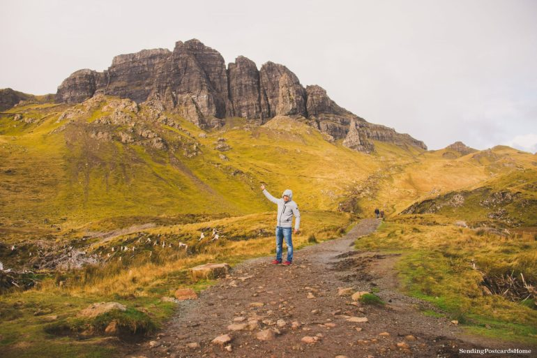 Ultimate road trip in Scotland Highlands - Old Man of Storr, Isle of Skye, Scottish Highlands, Scotland - Travel Blog 4