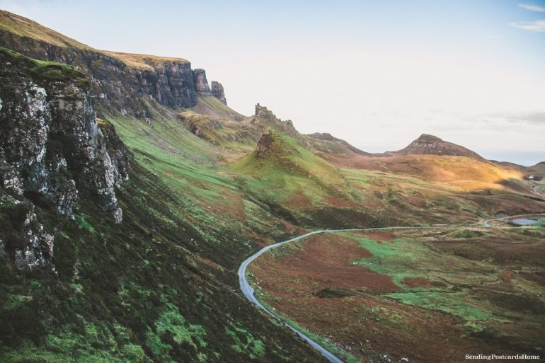Ultimate road trip in Scotland Highlands - Quiraing, Isle of Skye, Scottish Highlands, Scotland - Travel Blog 1