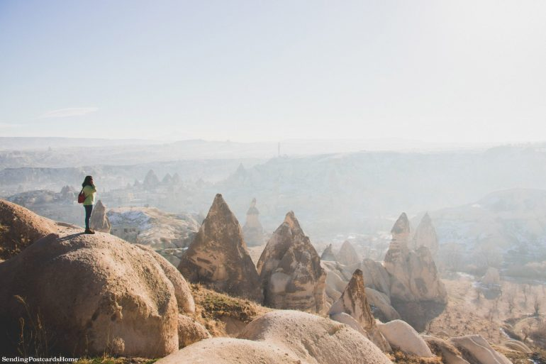 Planning a trip to Cappadocia in winter & Things to do - Goreme view point, Cappadocia, Turkey 2