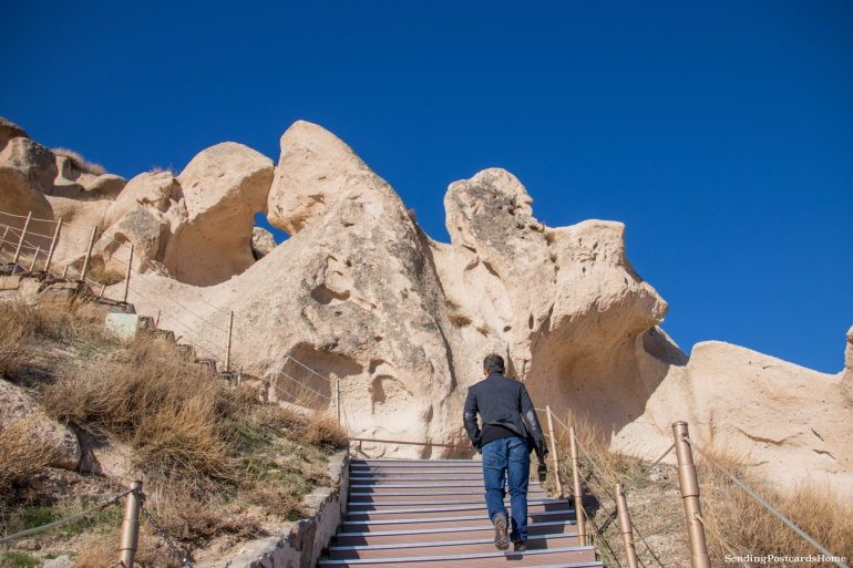 Planning a trip to Cappadocia in winter & Things to do - Uchisar Castle, Cappadocia, Turkey