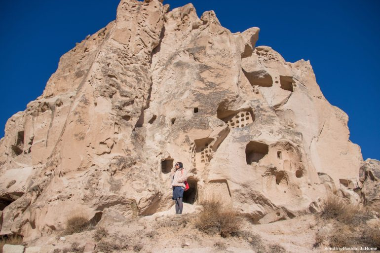 Planning a trip to Cappadocia in winter & Things to do - Uchisar Castle, Cappadocia, Turkey 5