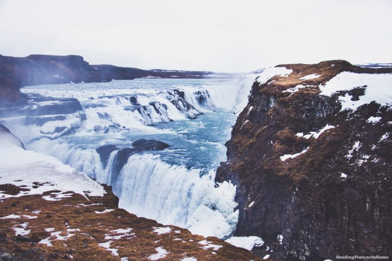 Land of Fire & Ice! First Impressions on Iceland - Gullfoss, Iceland.jpg