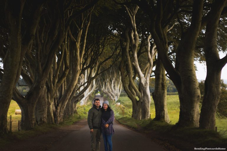 The Drive to Giants Causeway and Beyond; The kings road aka Dark Hedges