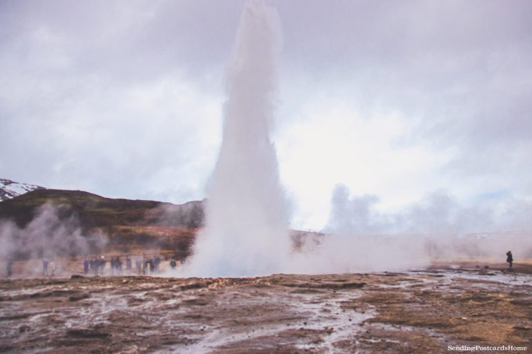 Itinerary for winter / spring road trip in Iceland - Geysir, Golden Circle