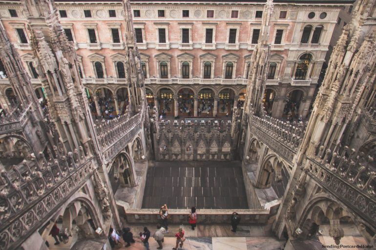 Duomo di Milano Terraces 2 _ Top 5 Experiences in Milan You Can't Miss