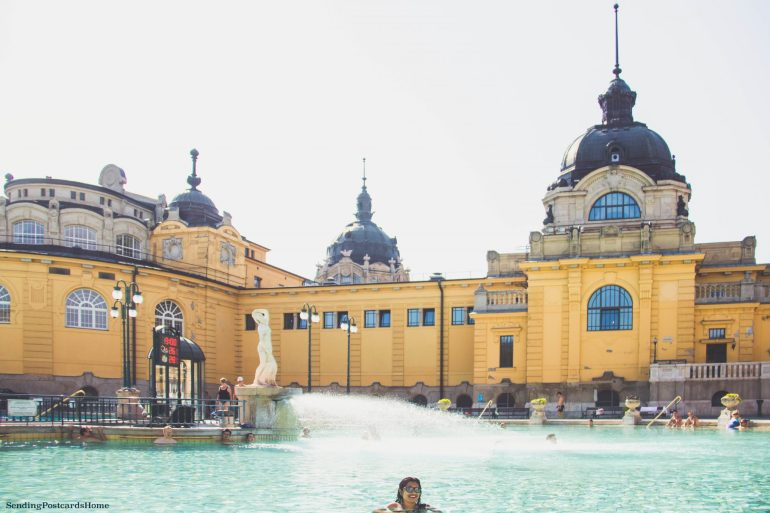 weekend getaway guide to Budapest - Széchenyi Baths