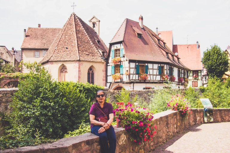 Picturesque Alsace and it's finest wines - Kaysersberg