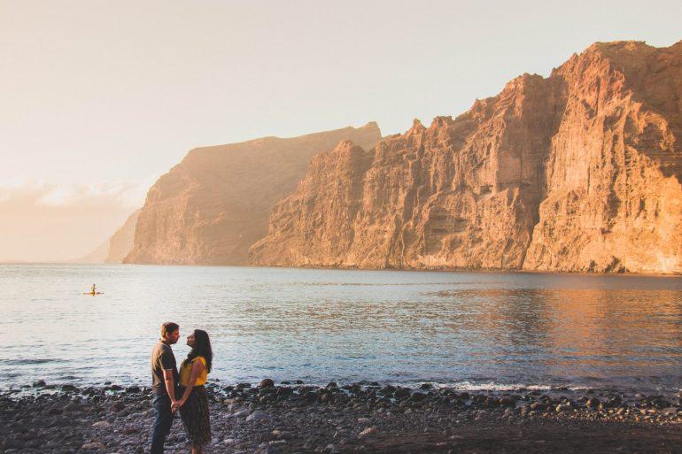 Los Gigantes beach Tenerife _ Tenerife - the charm of Canary Islands