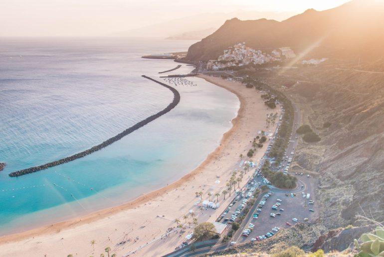 View of Playa de Las Teresitas