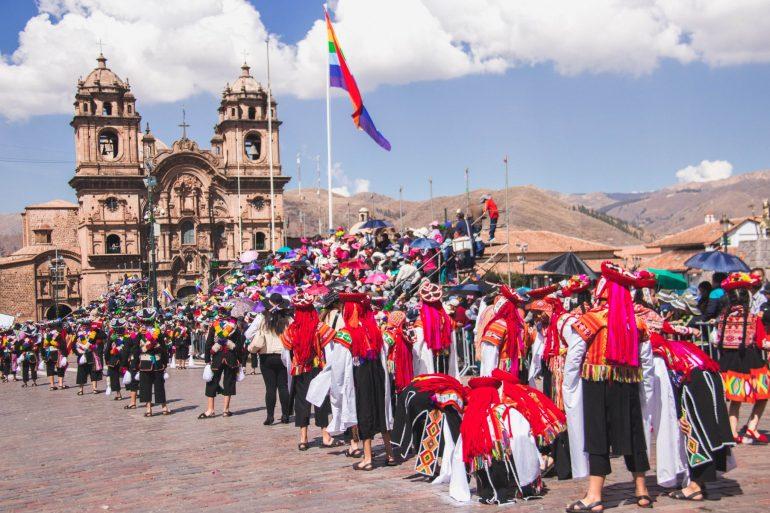 Cultural festival in Cusco, Peru 1