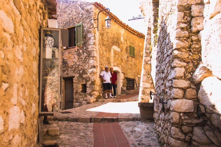 Eze, Coastal Village, Côte d'Azur 1